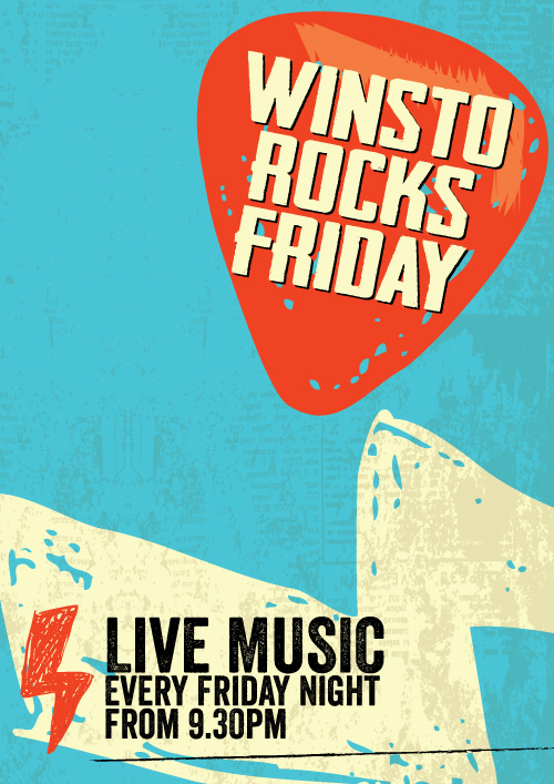 WINSTO ROCKS FRIDAYS!