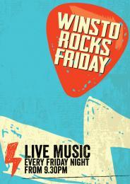 WINSTO ROCKS FRIDAYS!