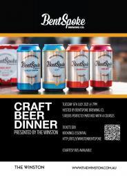 Bentspoke Craft Beer Dinner POSTPONED