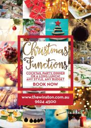 CHRISTMAS FUNCTIONS